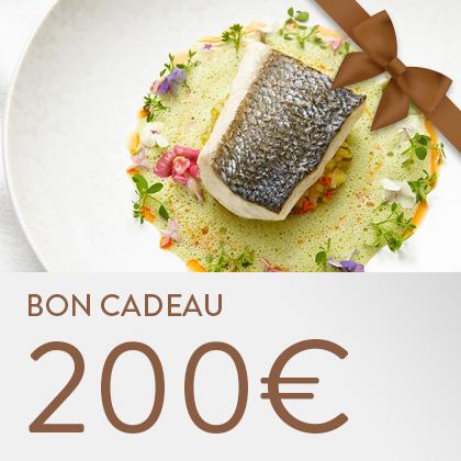Bon cadeau 200€