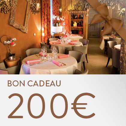 Bon cadeau 200€ La Table de Michèle