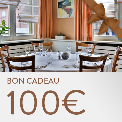 Bon cadeau restaurant Koenig - 100 euros