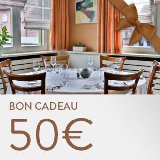 Bon cadeau restaurant Koenig - 50 euros