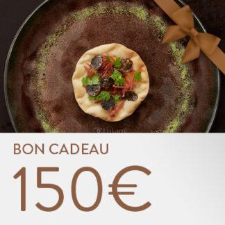 Bon cadeau La Lorraine 150 euros