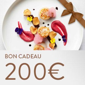 Bon cadeau Les Etangs 200 euros
