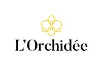 Logo restaurant étoilé michelin l'Orchidée
