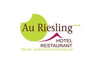 Logo hotel restaurant 3 étoiles Au Riesling